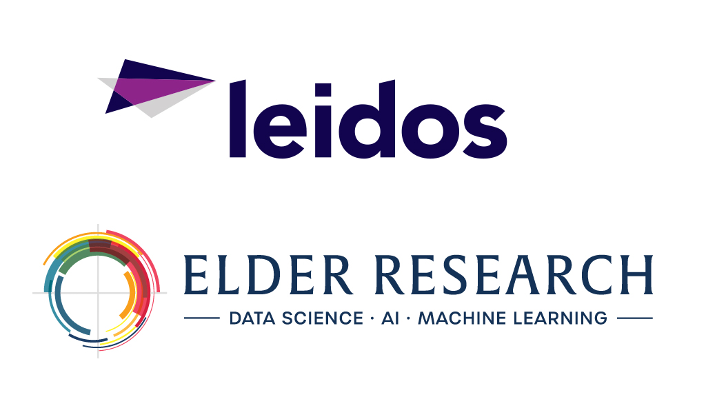 UVA Link Lab affiliate programs. Company logos Leidos and Elder Research (Data Science| AI | machine learning)