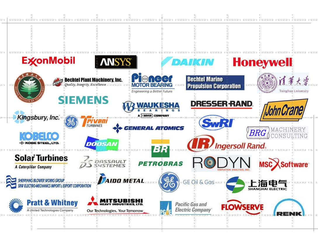 Graphic that contains corporate logos.