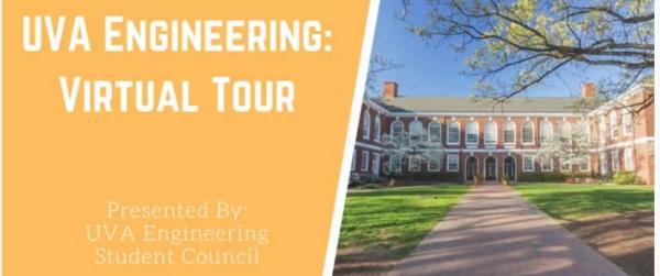 UVA Engineering Virtual Tour (image of Thornton Hall)