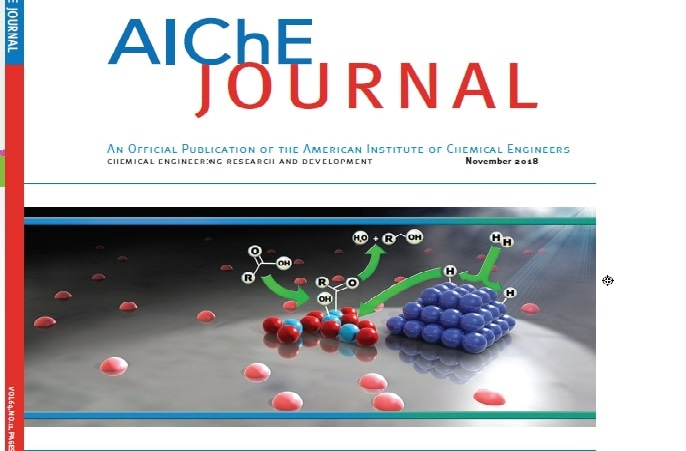 Bob Davis Group featured on cover American Institute of Chemical Engineering