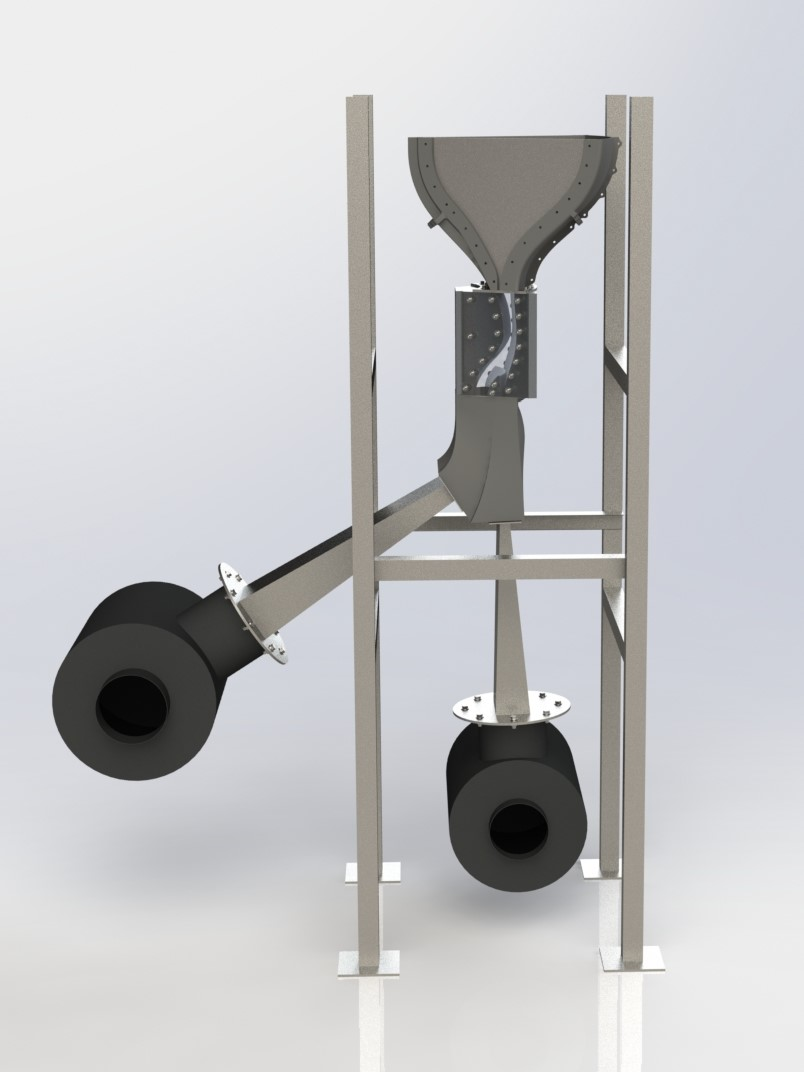 Model of the next axi-symmetric wind tunnel rig