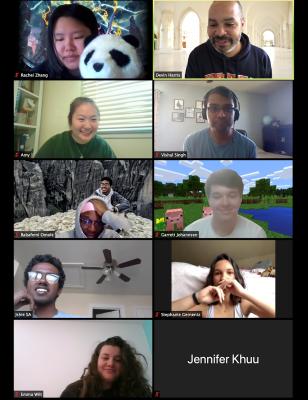 Clark Scholars Meeting on Zoom