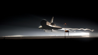 space shuttle, hypersonic
