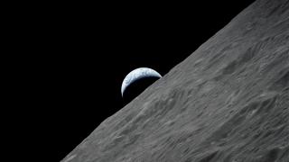 Earth as seen from the Apollo 17 orbital space ship