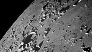 NASA photo of the lunar surface taken during the Apollo 17 mission.