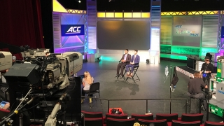 Alexander Singh and Rohit Rustagi on camera at ACC InVenture Prize