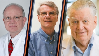 John Gainer, Donald Kirwan and Elmer Gaden
