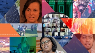 collage for Candid Conversations initiative in Biomedical Engineering