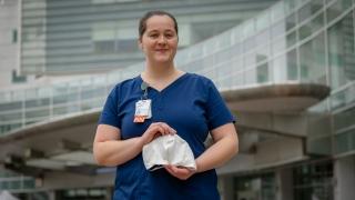 UVA Engineering, Covid-19, Jessica Denomme, UVA Health, PPE, volunteering