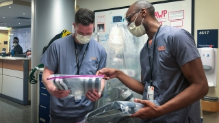 UVA Health, infectious disease, PPE, safety