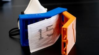 UVA Engineering, Covid, 3-D printer, Gavin Garner, N95, respirator, mask