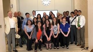 UVA 2018 policy interns visit National Science Foundation
