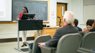 Nadia Jean Charles leads the Women Entrepreneurship Week program