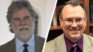 Ron Hutchins and Scott Bevins