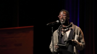 Still shot of Saul Williams