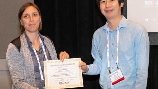 Qianhuan Yu receives top paper award at 2019 OSA gathering