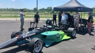 Indy Autonomous Challenge racecar