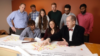 Lambert research group studies Virginia maps