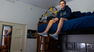 UVA Engineering, Brian McGuire, UVA Lawn, dorm