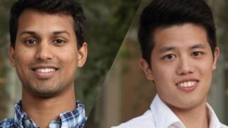 Robin Liu and Tehan Dassanayaka will graduate in December with Master of Engineering degrees in biomedical engineering