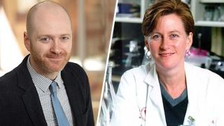 Dr. Coleen McNamara and Eli Zunder