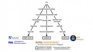 Professional Development Timeline for BMEs at UVA