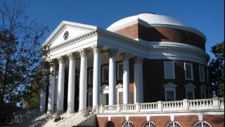 UVA's Rotunda from southeast