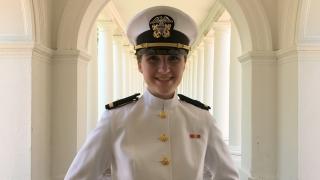 Sarah Gill, B.S. chemical engineering, 2021