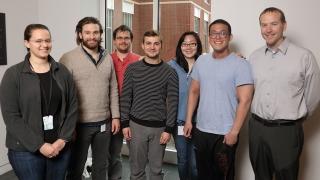 Group photo of Jeff Saucerman's Lab
