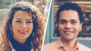 New faculty Sepideh Dolatshahi and Mohammad Fallahi-Sichani