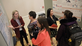 Students present at the 2019 University of Virginia Engineering Research Symposium, known as UVERS.