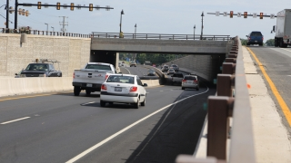 VDOT photo of the rebuilt U.S. 29-Rio Road intersection