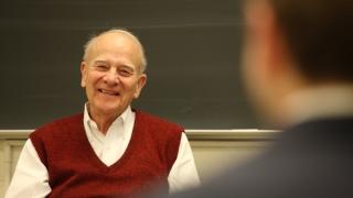 Portrait of William Wulf, UVA AT&T Professor of Computer Science emeritus
