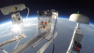 JefferSat CRM on NASA Scientific Balloon