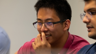 UVA Engineering, Alan Wang, graduate student, Link Lab, light