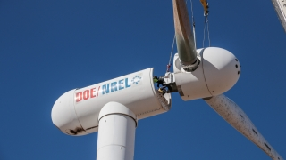 eric loth research: wind turbine